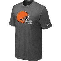 Cleveland Browns Sideline Legend Authentic Logo Dri-FIT Nike NFL T-Shirt Crow Grey