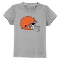 Cleveland Browns Sideline Legend Authentic Logo Youth T-Shirt Light Grey
