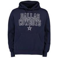 Dallas Cowboys Bendire Pullover Hoodie Navy