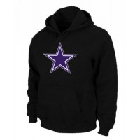 Dallas Cowboys Logo Pullover Hoodie Black