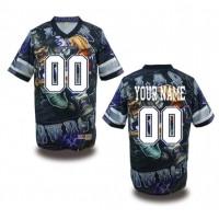 Dallas Cowboys NFL Customized Fanatic Version Jersey