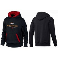 Denver Broncos Critical Victory Pullover Hoodie Black & Red