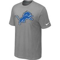 Detroit Lions Sideline Legend Authentic Logo Dri-FIT Nike NFL T-Shirt Light Grey