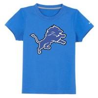 Detroit Lions Sideline Legend Authentic Logo Youth T-Shirt Light Blue