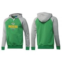 Green Bay Packers Critical Victory Pullover Hoodie Green & Grey