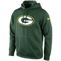 Green Bay Packers Nike KO Logo Essential Hoodie Green
