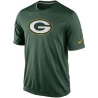 Green Bay Packers Nike Legend Logo Essential 2 Performance T-Shirt Green