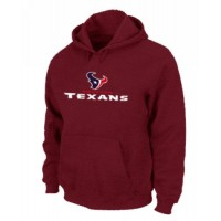 Houston Texans Authentic Logo Pullover Hoodie Red