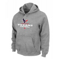 Houston Texans Critical Victory Pullover Hoodie Grey