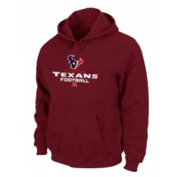 Houston Texans Critical Victory Pullover Hoodie Red