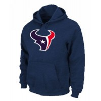 Houston Texans Logo Pullover Hoodie Dark Blue