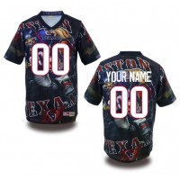 Houston Texans NFL Customized Fanatic Version Jersey