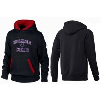 Indianapolis Colts Heart & Soul Pullover Hoodie Black & Red