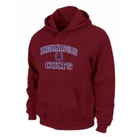 Indianapolis Colts Heart & Soul Pullover Hoodie Red