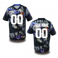 Indianapolis Colts NFL Customized Fanatic Version Jersey