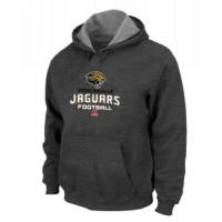 Jacksonville Jaguars Critical Victory Pullover Hoodie Dark Grey