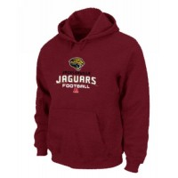 Jacksonville Jaguars Critical Victory Pullover Hoodie Red