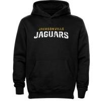 Jacksonville Jaguars Faded Wordmark Hoodie Black