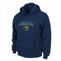 Jacksonville Jaguars Heart & Soul Pullover Hoodie Dark Blue