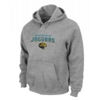 Jacksonville Jaguars Heart & Soul Pullover Hoodie Grey