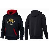 Jacksonville Jaguars Logo Pullover Hoodie Black & Red