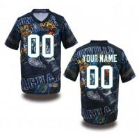 Jacksonville Jaguars NFL Customized Fanatic Version Jersey