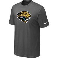 Jacksonville Jaguars Sideline Legend Authentic Logo Dri-FIT Nike NFL T-Shirt Crow Grey