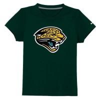 Jacksonville Jaguars Sideline Legend Authentic Logo Youth T-Shirt Dark Green