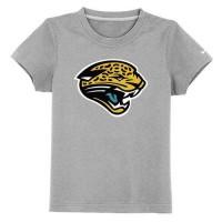 Jacksonville Jaguars Sideline Legend Authentic Logo Youth T-Shirt Grey