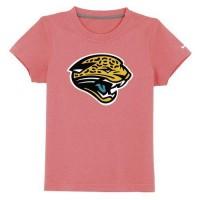 Jacksonville Jaguars Sideline Legend Authentic Logo Youth T-Shirt Pink