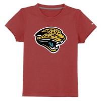 Jacksonville Jaguars Sideline Legend Authentic Logo Youth T-Shirt Red