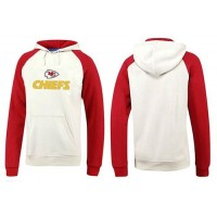 Kansas City Chiefs Authentic Logo Pullover Hoodie White & Red