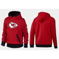 Kansas City Chiefs Logo Pullover Hoodie Red & Black