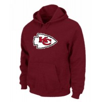 Kansas City Chiefs Logo Pullover Hoodie Red