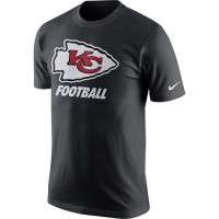 Kansas City Chiefs Nike Facility T-Shirt Anthracite