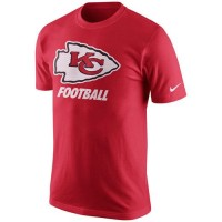 Kansas City Chiefs Nike Facility T-Shirt Red