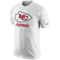 Kansas City Chiefs Nike Facility T-Shirt White