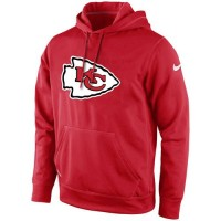 Kansas City Chiefs Nike KO Logo Essential Hoodie Red