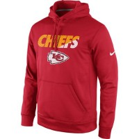 Kansas City Chiefs Nike Kick Off Staff Performance Pullover Hoodie Red