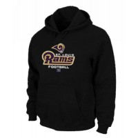 Los Angeles Rams Critical Victory Pullover Hoodie Black