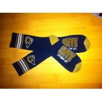 Los Angeles Rams Team Logo Navy NFL Socks