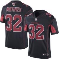 Men's Arizona Cardinals #32 Tyrann Mathieu Nike Black Color Rush Limited Jersey