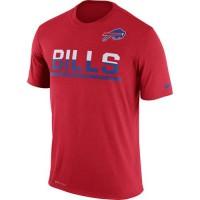 Men's Buffalo Bills Nike Practice Legend Performance T-Shirt Red