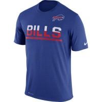 Men's Buffalo Bills Nike Practice Legend Performance T-Shirt Royal
