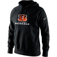 Men's Cincinnati Bengals Nike Black Lockup Pullover Hoodie