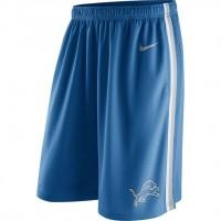 Men's Detriot Lions Blue Epic Team Logo Shorts