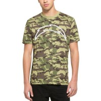 Men's Los Angeles Chargers '47 Camo Alpha T-Shirt