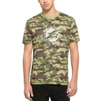Men's Miami Dolphins '47 Camo Alpha T-Shirt