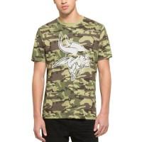 Men's Minnesota Vikings '47 Camo Alpha T-Shirt