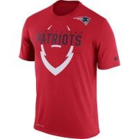 Men's New England Patriots Nike Red Legend Icon Dri-FIT T-Shirt
